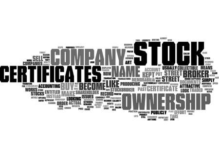 Word Cloud Summary of Paper Certificates or Street Ownership Is one safer Article