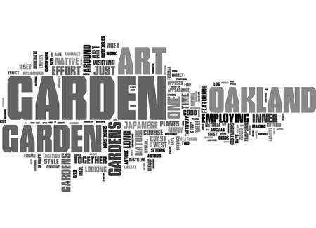 Word Cloud Summary of Native Flora Art an Oakland Garden Makes Article