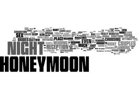Word Cloud Summary of Honeymoon Nights Article