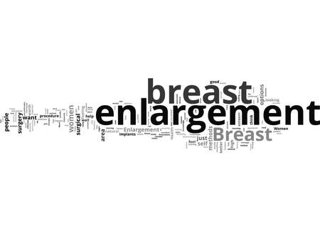 Word Cloud Summary of How To Breast Enlargement For Women Health Article