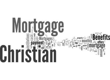Word Cloud Summary of Seven Benefits of Christian Mortgage Article