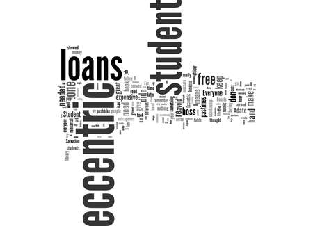 Word Cloud Summary of Student Loans Article