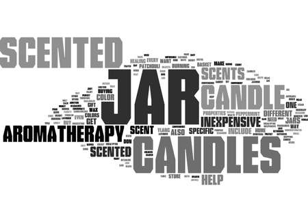 Word Cloud Summary of Enjoy The Convenience of Scented Jar Candles Inexpensive And Useful Article