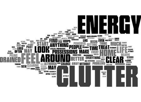 Word Cloud Summary of Feng Shui Life Clear Your Clutter Now Article