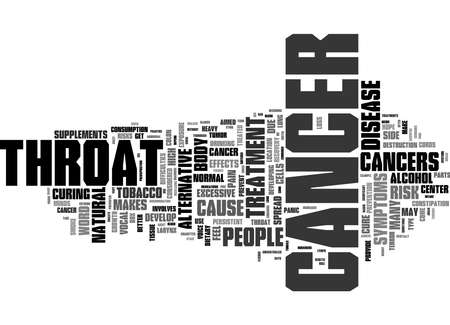 Word Cloud Summary of Throat cancer treatment cure alternative Article