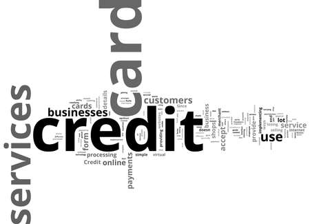Word Cloud Summary of Credit Card Services Article