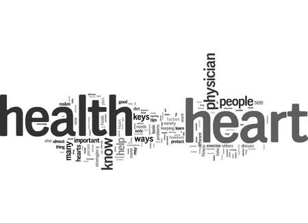 Word Cloud Summary of Know Your Heart Health Article