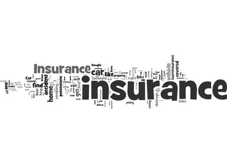 Word Cloud Summary of Overview of the Insurance Industry Article