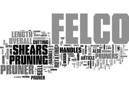 Word Cloud Summary of Felco Pruners Reviewed Article