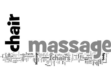 Word Cloud Summary of What To Look For In A Home Massage Chair Article