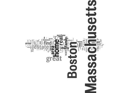 Word Cloud Summary of Homes for Sale in Massachusetts Article