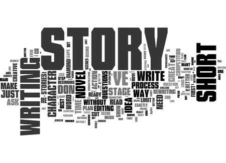 Word Cloud Summary of The Long And The Short Of The Short Story Article