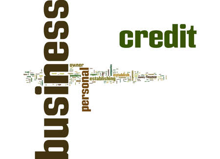 Word Cloud Summary of Top Five Reasons to Establish Business Credit Article