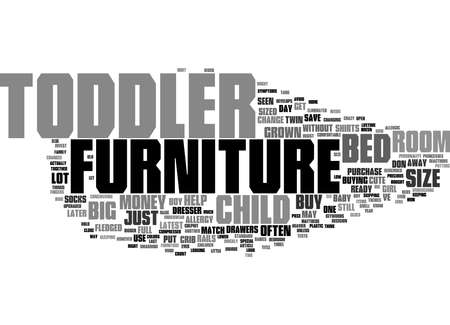 Word Cloud Summary of Should You Buy Todder Size Furniture Article