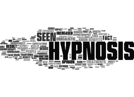 Word Cloud Summary of What Hypnosis Can And Cannot Do Article