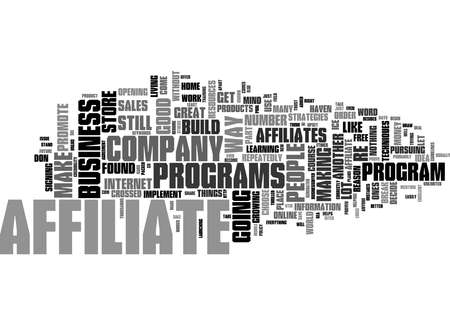 Word Cloud Summary of Not An Affiliate Why Ever Not Article