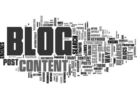 Word Cloud Summary of Reasons Why You Need A Blog Article