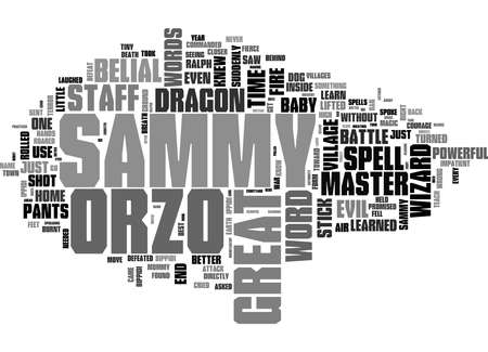 Word Cloud Summary of The Brand New Wizard Article 免版税图像