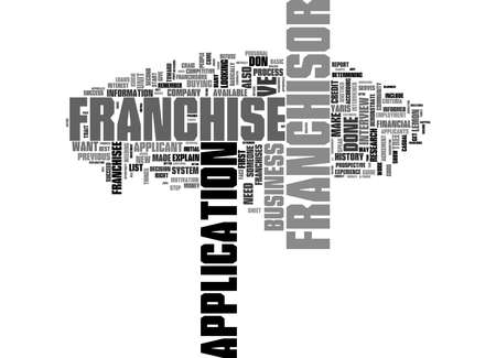 Word Cloud Summary of What Do Franchisors Look For In A Franchisee Article