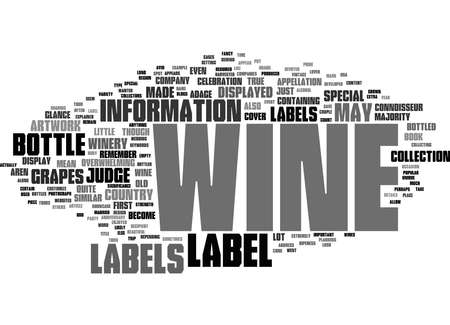 Word Cloud Summary of Wine Labels Explained Article