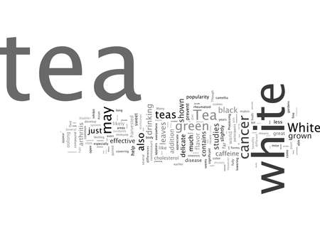 Word Cloud Summary of Tea How Is White Tea Different From Other Teas Article