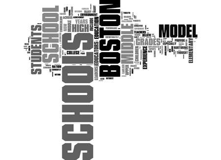 Word Cloud Summary of Middle School May Be Pass Within The Boston Schools Article