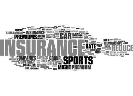 Word Cloud Summary of Insurance For Sports Cars Article