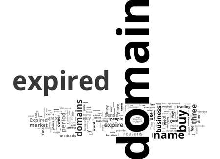 Word Cloud Summary of Several Ways And Means To Buy Expired Domain Article