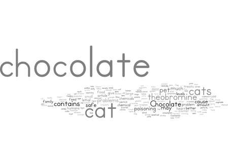 Word Cloud Summary of Stop Don t Give Your Cat That Chocolate Article