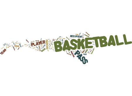 Word Cloud Summary of article The basketball pass Passing to excitement 版權商用圖片
