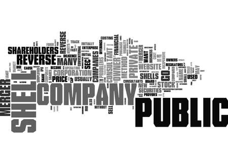 Word Cloud Summary of What Is Reverse Merger And Is It For Everyone Part Article