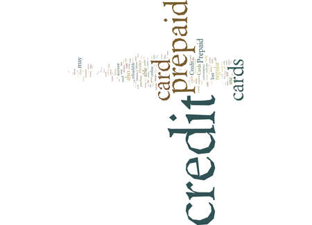 Word Cloud Summary of article The Pros And Cons Of Prepaid Credit Cards