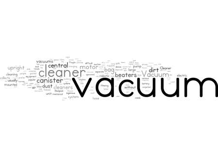 Word Cloud Summary of The Vacuum Cleaner An Essential Home Appliance Article