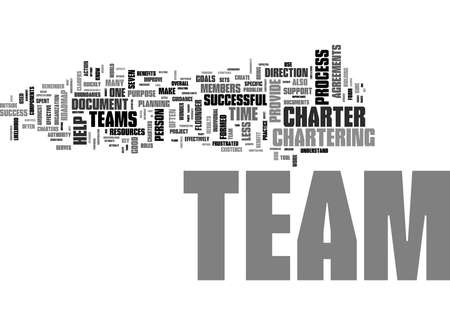 Word Cloud Summary of Top Reasons Why Team Charters Improve Team Success Article