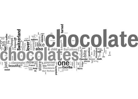 Word Cloud Summary of article Seven Heavens Of Chocolate Lovers