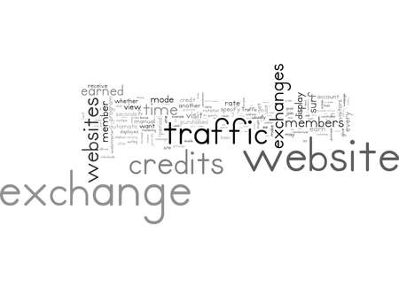 Word Cloud Summary of article Traffic Exchange Primer