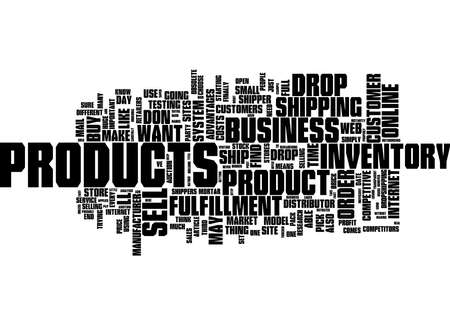 Word Cloud Summary of article Starting a Successful Dropshipping Business Reklamní fotografie