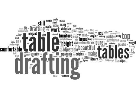 Word Cloud Summary of article Why Choose And Buy A Drafting Table