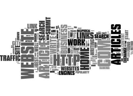 Word Cloud Summary of Two Steps To Gain Free Website Traffic Article Reklamní fotografie