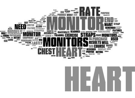 Word Cloud Summary of heart monitors 1 Article
