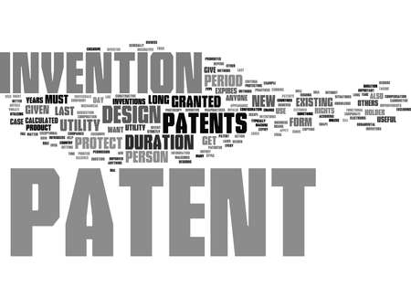 Word Cloud Summary of how long does a patent last Article