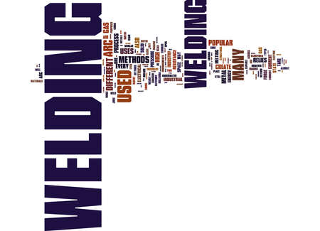 Word Cloud Summary of article What Are Some Of The Different Types Of Welding