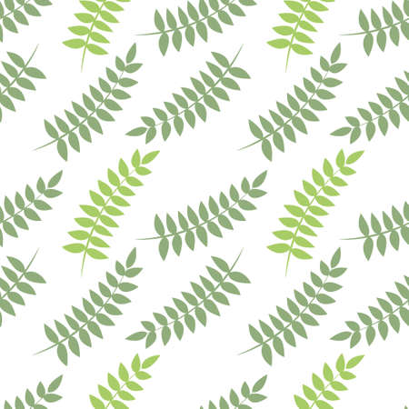 Vector tropical leaves seamless pattern, Tropical leaves repeated pattern, backdrop.