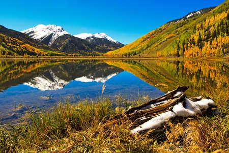 Fall in Colorado Mountains photo