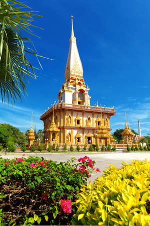 chalong: Temple Wat Chalong, South of Phuket, Thailand