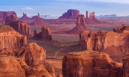 View from Hunts Mesa, Monument Valley, Arizona