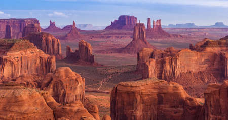 monument valley view: View from Hunts Mesa, Monument Valley, Arizona