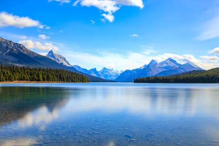 jasper: Maligne Lake in Jasper national park, Alberta, Canada