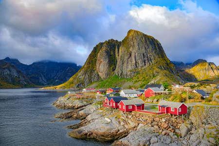 alpine hut: Fishing hut at Reine, Lofoten islands, Norway