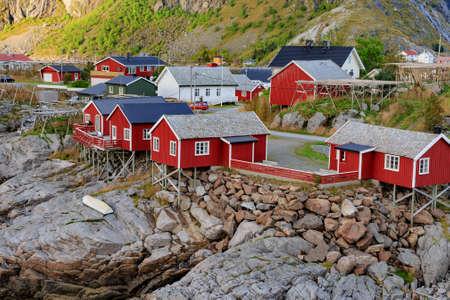 fishing hut: Fishing hut at Reine, Lofoten islands, Norway